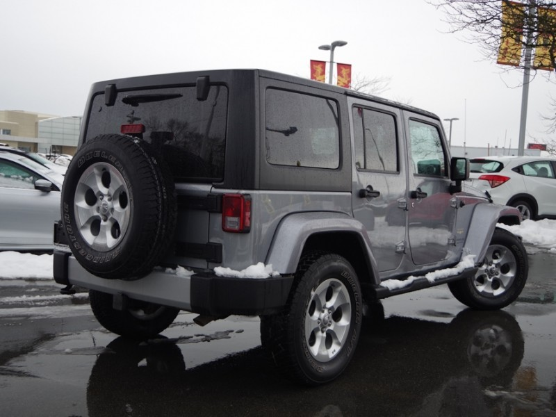 Used 2015 Jeep Wrangler Unlimited Unlimited Sahara
