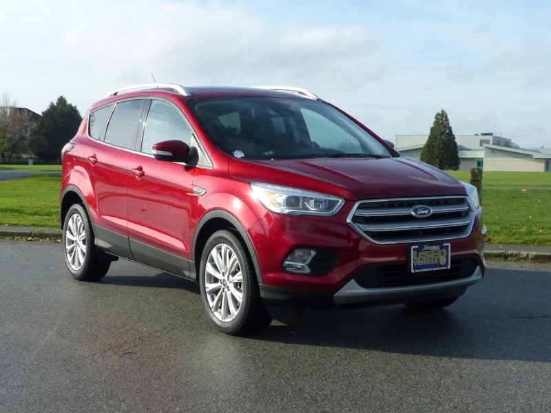 Used 2017 Ford Escape Titanium - Leather Seats - Bluetooth