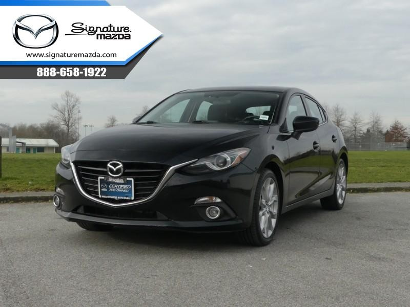 Used 2016 Mazda3 GT - Navigation - Sunroof