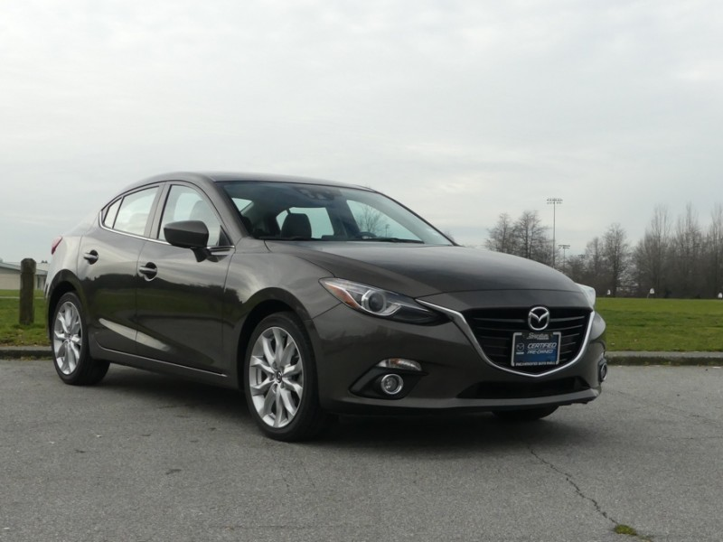 Used 2014 Mazda3 GT-SKY at - Sunroof - Navigation
