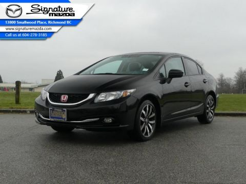 Used 2015 Honda Civic Sedan Sedan Touring CVT - Low Mileage