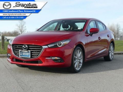 Used 2018 Mazda3 GT - Sunroof - Heated Seats