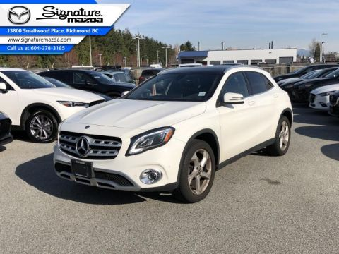 Used 2018 Mercedes Benz GLA 4MATIC SUV - Sunroof - Premium Package
